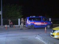 PKK'lılar mermer ocağını ateşe verdi: Bir asker yaralı