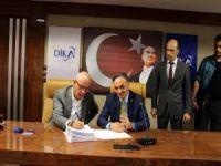 Alo Tevşo halk pazarı yapım protokolü imzalandı