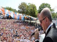Erdoğan: Biz sadece Allah'ın huzurunda rükuda ve secdede eğildik
