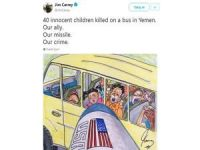 Jim Carrey'den 'Yemen' tepkisi!