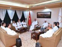 Adalet Bakan Gül, Mekke'de Erbaş'ı ziyaret etti