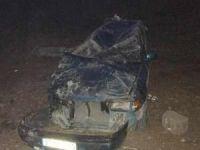 Suriyeli aile kaza yaptı: 6 yaralı