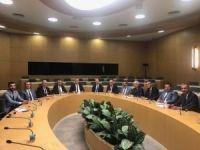 Maden sektörü temsilcilerinden Bakan Yardımcısı Mithat Cansız'a ziyaret