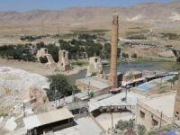 Hasankeyf'te tarihi eserleri taşınma çalışmaları sürüyor