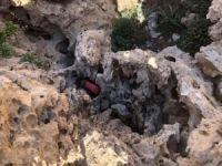 Herekol'da PKK'ya ait sığınaklar imha edildi