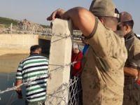 Sulama kanalına giren Suriyeli çocuk boğuldu