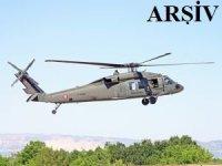 Hindistan'a ait bir helikopter düştü