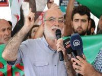 İstanbul'da İdlib protestosu