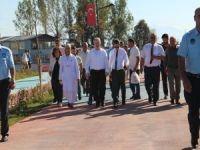 Tuşba'da 'Dünya Yürüyüş Günü' yarışması