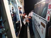 Göçmenleri taşıyan lastik bot battı: 2 ölü