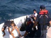 Muğla'da göçmen teknesi battı: Bir ölü 16 kişi sağ kurtarıldı
