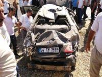 Aşırı hız ve dikkatsizlik kazası