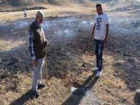 Bingöl'de toprak yangını tedirgin etti