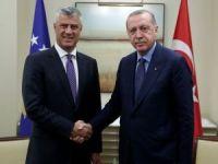 Cumhurbaşkanı Erdoğan, Thaçi ile görüştü