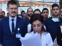 """Hacıosman: """"Sağlık sektöründe çalışanların yüzde 70'i şiddete uğramaktadır"""""""