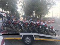 Gaziantep'te çalıntı motosiklet operasyonu
