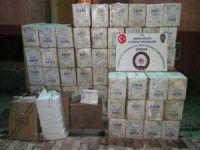 Şırnak'ta gümrük kaçağı sigara ele geçirildi