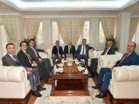 Adli Erkandan Vali Deniz'e iade-i ziyaret