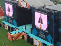 Cumhurbaşkanı Erdoğan Diyarbakır'dan birlik ve beraberlik mesajı