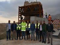 Hasankeyf Kalesi Orta Kapısı'nın taşıma işlemleri tamamlandı