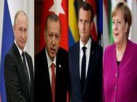 Dörtlü Suriye Zirvesi sonrası liderler ortak basın toplantısı yaptı