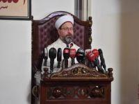 "Erbaş: ""Kur'an-ı Kerim'i hem okuyacağız hem yaşayacağız"""