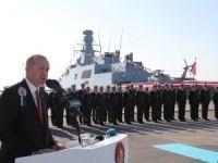 Erdoğan: Türkiye'yi adeta denize ayak basamayacak hâle getirmeyi amaçlayan çabalara asla izin vermeyeceğiz