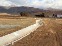 Çaldıran'a 6 bin metrelik sulama kanalı yapıldı