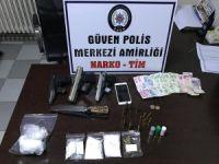 Gaziantep'te uyuşturucu satıcısı tutuklandı