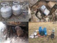 PKK'ya ait EYP ile çok sayıda yaşam malzemesi ele geçirildi
