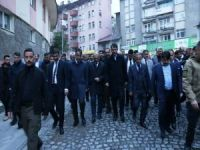 """Bakan Kurum, """"Sokak Sağlıklaştırması Projesi""""ni inceledi"""