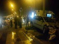 Mardin'de iki aracın karıştığı kazada sürücüler yara almadan kurtuldu