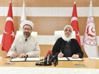 Diyanet ile Aile Bakanlığı arasında işbirliği protokolü
