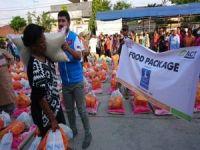 Dünyanın iyilik elleri Arakan'a yardım yağdırıyor