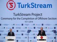 """Erdoğan: """"TürkAkım, bölgemiz enerji jeopolitiği bakımından tarihî nitelikte bir projedir"""""""