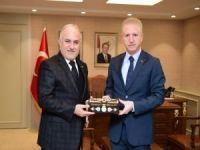 Kızılay Genel Başkanı'ndan Gaziantep Valisi'ne ziyaret