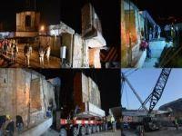 Tarihi Eyyubi Camisi'nin taşınma süreci başladı