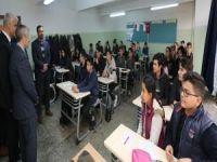 Gaziantepli öğrencileri umre ödüllü sınav heyecanı sardı