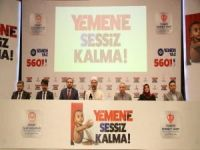 Türkiye genelinde Yemen için yardım toplanacak