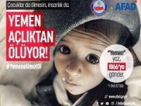 Yemen için yardım kampanyası başlatıldı