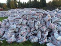 """Yardım amaçlı dağıtılan kömürler """"sakıncalı"""" çıktı"""