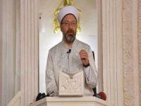 """Erbaş: """"Müslümanları ayet ile uyarmak son derece tabiî bir durumdur"""""""