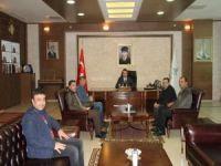 Yerel basın temsilcileri sorunlarını Vali Çağatay'a aktardı