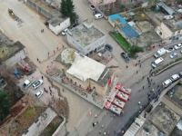 Tarihi Eyyubi Camisi'ni taşıma işlemi sürüyor