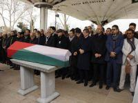 Filistinli Başkonsolosun cenaze namazı Fatih Camii'nde kılındı