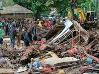 Endonezya'daki tsunamide ölenlerin sayısı artıyor