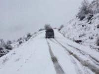 Siirt'te 10 köy yolu ulaşıma kapandı