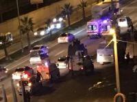 Polis zırhlı aracı devrildi: 5 yaralı