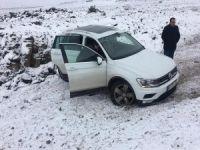 Buzlanma kazaya neden oldu: 5 yaralı