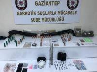 Gaziantep'te uyuşturucuya 10 tutuklama